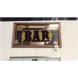 Private Bar Tavern Mirror