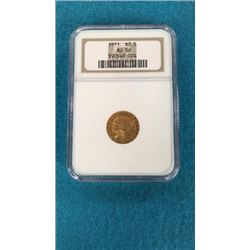 1911 Gold $2.5 Coin