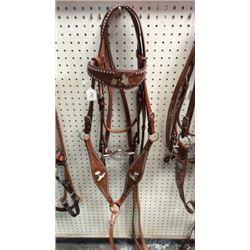 Barrel Racing Bridle and Breast Collar Set