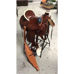 Montana Saddlery Saddle. Wade Tree Style with