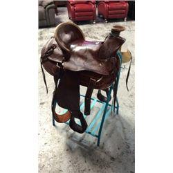 Montana Saddlery Wade Tree Style Roping Saddle