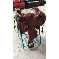 Montana Saddlery Association Style Roping Saddle