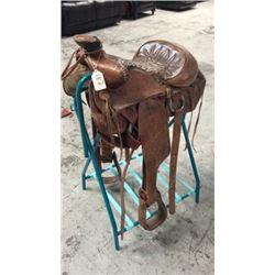Vintage Bear Trap Saddle