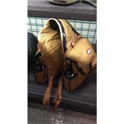Large Cordura Saddle Bags