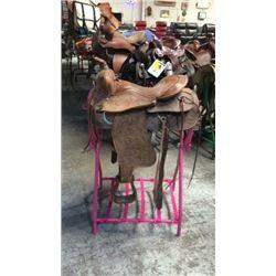 Used 15 inch Acton Company Saddle