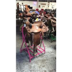 Used 15 inch Hereford Saddle