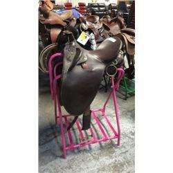 Used Australian Saddle Measured Western 14 inch