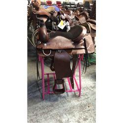 New 17 inch Buffalo Saddlery Roping Saddle