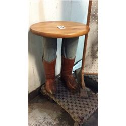 Western Boot Table