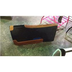 Black Felt Saddle Pad