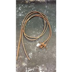 8ft Harness Leather Split Reins