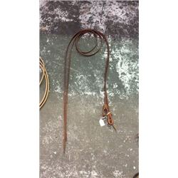 7ft Oiled Harness Leather Split Reins