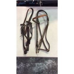 2 Used Leather Headstalls