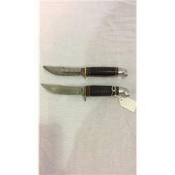 2 Vintage Western Co Knives