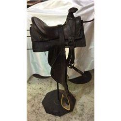 Slick Fork Saddle C1880's to 1890's Sam Stagg Rigged