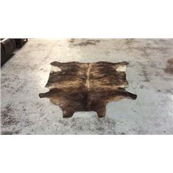 Tanned Brindle Cow Hide