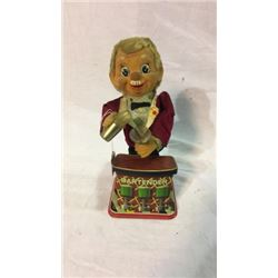 Vintage Tin Bartender Battery Operated