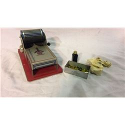Mini Toy Ink Printing Press