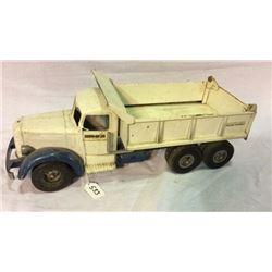 Vintage Toy Die Cast Dump Truck