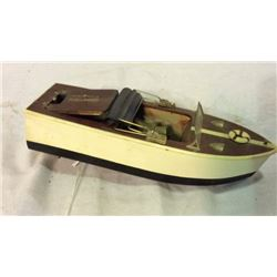 Wooden Model Power Boat