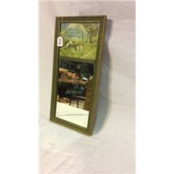 1920 Mirror and Craved Frame