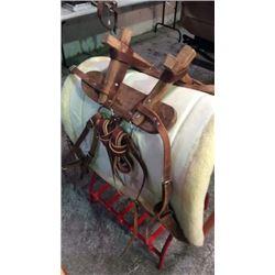 Hard Wood Sawbuck Pack Saddle