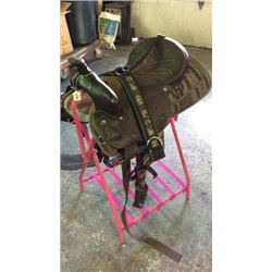 16inch Used Saddle King Light Weight Saddle with