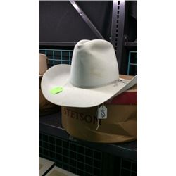 Stetson 10x 7 1/4 Hat with Box