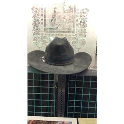 Black Resilstol Cowboy Hat Size 7 5/8