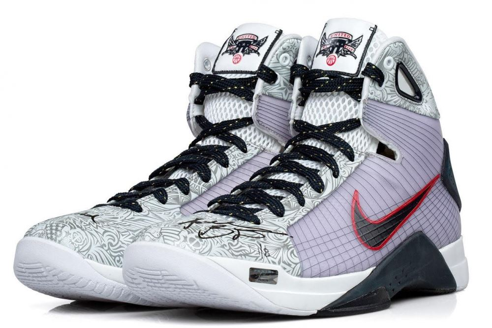 3479e6c71dcbe Image 1   Kobe Bryant Signed Limited Edition Nike Hyperdunk Olympic Shoes  Inscribed