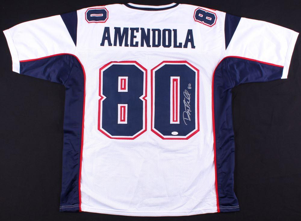 best authentic 5fae2 32507 Danny Amendola Signed Patriots Jersey (JSA COA)