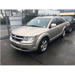 2009 DODGE JOURNEY, BROWN, 4 DOOR SUV, GAS, AUTOMATIC, VIN#3D4GG57V79T179925, 156,342KMS,