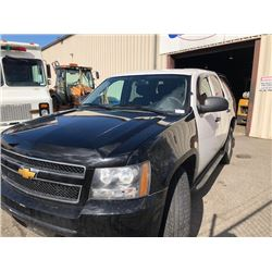 2013 CHEVROLET TAHOE, WHITE, SUV, GAS, AUTOMATIC, VIN#1GNSK2E05DR192581, 199,270KMS,