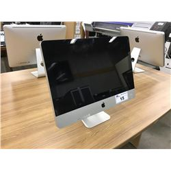 APPLE IMAC 21.5'' COMPUTER, MODEL A1311, SERIAL NUMBER W89453YY5PK, WITH APPLE KEYBOARD AND