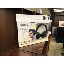 SONY WIRELESS NOISE CANCELLING HEADPHONES, MODEL MDR-ZX780DC