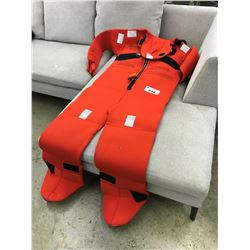 MUSTANG ADULT UNIVERSAL IMMERSION SURVIVAL SUIT AND BAG