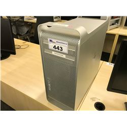 APPLE MAC PRO, MODEL A1289, SERIAL NUMBER E722701CEUE, WITH APPLE KEYBOARD,