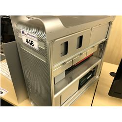 APPLE MAC PRO, MODEL A1289, SERIAL NUMBER YM0430W7EUF, WITH APPLE KEYBOARD,