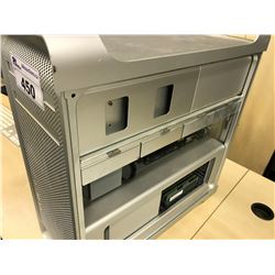 APPLE MAC PRO, MODEL A1289, SERIAL NUMBER YM04808AEUF, WITH APPLE KEYBOARD,