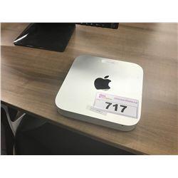 APPLE MAC MINI, MODEL A1347, 4 GB RAM, SERIAL NUMBER C07LV0FVDWYN