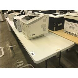 LOT OF 2 6' FOLDING TABLES, AND WHITE 2 DRAWER VERTICAL FILE CABINET