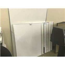 LOT OF WHITE BOARDS