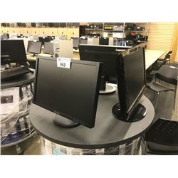 LOT OF APPROX. 18 LCD MONITORS
