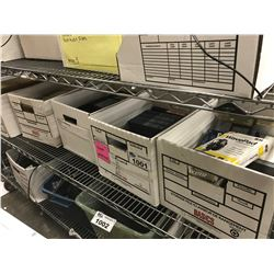 LOT OF ASSORTED OFFICE AND A/V ITEMS