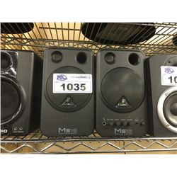 PAIR OF MS16 MONITOR SPEAKERS