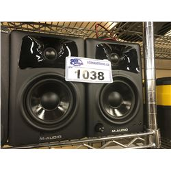 PAIR OF M-AUDIO AV 42 SPEAKERS