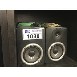 PAIR OF M-AUDIO STUDIOPHILE DX4 MONITORS