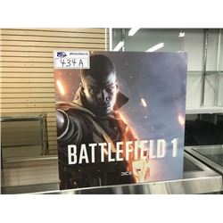BATTLEFIELD 1 COLLECTORS EDITION PS4 GAME WITH STATUE, BOOK, CARDS AND MORE