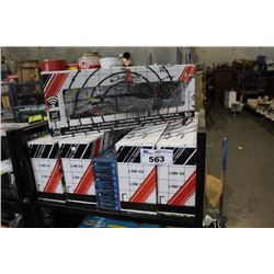 SHELF LOT OF COBRA RC HELICOPTERS