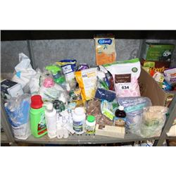 SHELF LOT INCLUDING LAUNDRY DETERGENT, FLOUR, BABY FORMULA AND MORE